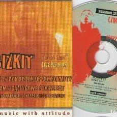 CDs de Música: ROCK SOUND, Nº33. LIMP BIZKIT, AMEN, PENNYWISE, CORROSION OF CONFORMITY, MY RUIN, SAMIAN, DOWNSET.... Lote 207045475