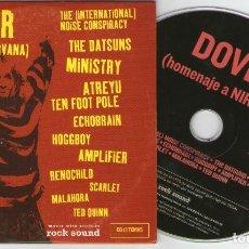 CDs de Música: ROCK SOUND, Nº75 DOVER – THE (INTERNATIONAL) NOISE CONSPIRACY – THE DATSUNS – MINISTRY – ATREYU. Lote 207045601