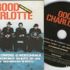 CDs de Música: ROCK SOUND, Nº77 GOOD CHARLOTTE – SUM 41 – ELECKTRA – CONVERGE – EL AGENTE NARANJA – HOT WATWR MUSIC. Lote 207045680