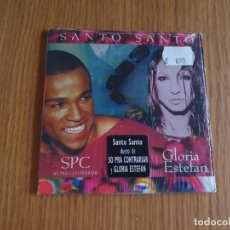 CDs de Música: PRECINTADO - GLORIA ESTEFAN - SANTO SANTO - SPC - 1 CD SINGLE. Lote 207048565