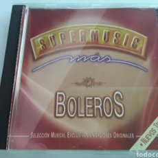 CDs de Música: SUPERMUSIC / MÁS BOLEROS / CD ORIGINAL. Lote 207053155