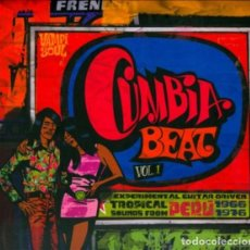 CDs de Música: CUMBIA BEAT VOL.1 EXPERIMENTAL GUITAR-DRIVEN TROPICAL SOUNDS FROM PERÚ 1966/1976. Lote 207054470