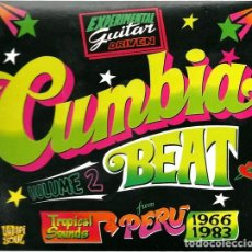 CDs de Música: CUMBIA BEAT VOL.2 EXPERIMENTAL GUITAR-DRIVEN TROPICAL SOUNDS FROM PERÚ 1966/1983. Lote 207055015