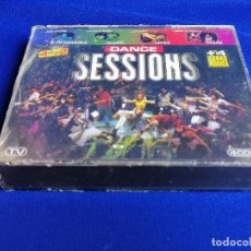 CDs de Música: DANCE SESSIONS- 4 CDS NUEVO SIN ABRIR. Lote 207069423