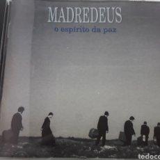 CDs de Musique: MADREDEUS / O ESPIRITO DA PAZ / CD ORIGINAL. Lote 207073690