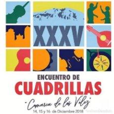 """CDs de Música: VARIOS - CD XXXV ENCUENTRO DE CUADRILLAS """"COMARCA DE LOS VÉLEZ"""" (2019). Lote 207099312"""