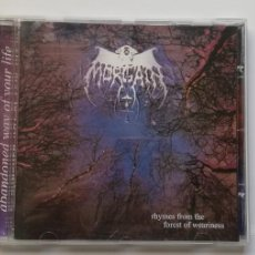 CDs de Música: 0620- MORGAIN RHYMES FROM THE FOREST OF WEARINESS - CD DISCO NUEVO LIQUIDACION!. Lote 207122207