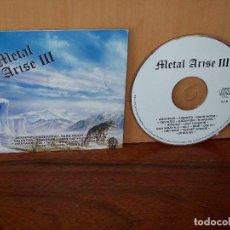 CDs de Música: METAL ARISE III - ARTISTAS VARIOS - CD EN TAPA CARTON 15 CANCIONES COMO NUEVO. Lote 207123905