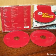 CDs de Música: ING OUT WITH BOY HEORGE A DJ MIX - DOBLE CD COMO NUEVO. Lote 207124887