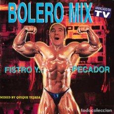 CDs de Música: 2 CD BOLERO MIX 11 - FISTRO Y... PECADOR - BLANCO Y NEGRO MXCD- 575 (EX/EX) Ç. Lote 207140132