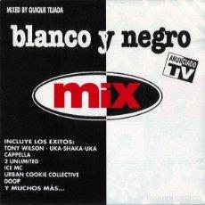 CDs de Música: 2 CD V/A – BLANCO Y NEGRO MIX - BLANCO Y NEGRO MXCD-520 - QUIQUE TEJADA (EX/EX) Ç. Lote 207140560