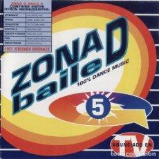CDs de Música: 2 CD ZONA D BAILE VOL. 5 - GASA 450995915 2 - ROBIN S - SPANIC (EX/EX) DE Ç. Lote 207140992