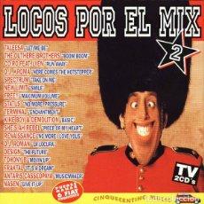 CDs de Música: 2 CD V/A – LOCOS POR EL MIX 2 - MAX MUSIC NM1100CDTV - TALEESA - DJ KROMA (EX/EX) Ç. Lote 207141905