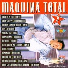 CDs de Música: 2 CD MAQUINA TOTAL 9 - MAX MUSIC NM1482CDTV - WONDERWORLD - KRISS (EX/EX) Ç. Lote 207142185