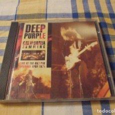 CDs de Música: DEEP PURPLE CALIFORNIA JAMMING LIVE AL ONTARIO 1974 - PREMIER LC 0542. Lote 207142386