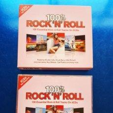 CDs de Música: 5 CDS-ROCK´N´ROLL-100% ESSENTIAL ROCK & ROLL TRACKS ON.4 HORAS MÚSICA-NUEVO-VER FOTOS. Lote 207142966