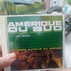 CDs de Música: CD AMÉRIQUE DU SUD LOS INCAS. Lote 207147236
