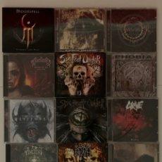 CDs de Música: CDS DEATH BLACK METAL. Lote 207155612
