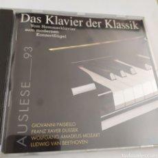 CDs de Música: DAS KLAVIER DER KLASSIK / AUSLESE 93 / CD ORIGINAL. Lote 207170226