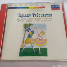 CDs de Música: BALLET FAVOURITES / WEEKEND CLASSICS / CD ORIGINAL. Lote 207188908