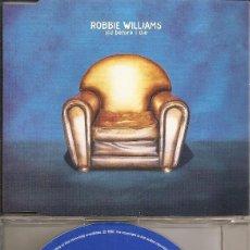 CDs de Música: ROBBIE WILLIAMS - OLD BEFORE I DIE (CDSINGLE CAJA PROMO, CHRYSALIS 1997). Lote 207194086