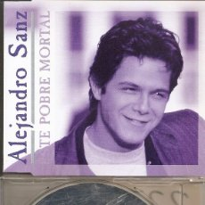 CDs de Música: ALEJANDRO SANZ - ESTE POBRE MORTAL (CDSINGLE CAJA PROMO, WARNER 1993). Lote 207194093