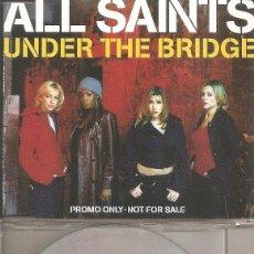 CDs de Música: ALL SAINTS - UNDER THE BRIDGE (CDSINGLE CAJA, LONDON RECORDS 1997). Lote 207194103