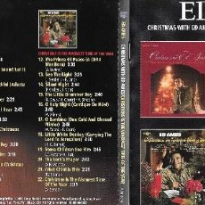 CDs de Música: ED AMES - CHRISTMAS WITH ED AMES / CHRISTMAS IS THE WARMEST TIME OF THE YEAR. Lote 207212526