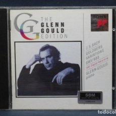 CDs de Música: J.S. BACH - GLENN GOULD – GOLDBERG VARIATIONS BWV 988 - CD. Lote 207218650