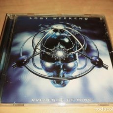 CDs de Música: LOST WEEKEND CD 2000* NUEVO *JOURNEY-IRON MAIDEN-AINA-TEN-REDEMPTION (COMPRA MINIMA 15 EUR. Lote 207219132