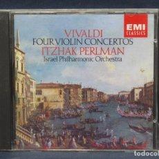 CDs de Música: VIVALDI - VIOLIN CONCERTOS - PEARLMAN - CD. Lote 207223016