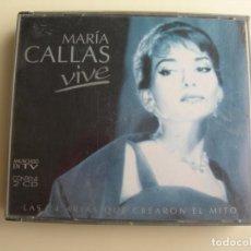 CDs de Música: VIVE MARIA CALLAS 2 CDS. Lote 207230233