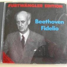 CDs de Música: WILHELM FURTWÄNGLER FIDEGLIO OP. 72 CD CARA DOBLE. Lote 207230815