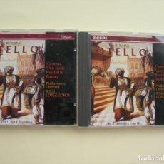 CDs de Música: JESÚS LÒPEZ COBOS OTELLO 2 CDS. Lote 207231788