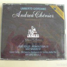 CDs de Música: ARTURO BASILE ANDREA CHERNIER 2 CDS + LIBRETTO. Lote 207232938