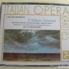 CDs de Música: JAN LATHAM KÖNIG IL DILUVIO UNIVERSALE 2 CDS. Lote 207233720