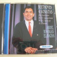 CDs de Música: ABDEL RAHMAN EL BACHA 4 SONATAS. Lote 207234028