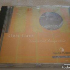 CDs de Música: CD LLUIS LLACH CONCERT CAMP NOU AÑO 1995 + CD JOSEP CARRERAS T'ESTIM I T'ESTIMARE. Lote 207243198