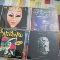 CDs de Música: 4 CD'S CIRQUE DU SOLEIL. Lote 207251072