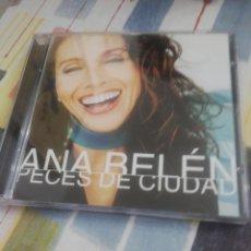 CDs de Música: CD ANA BELÉN PECES DE CIUDAD. Lote 207252026