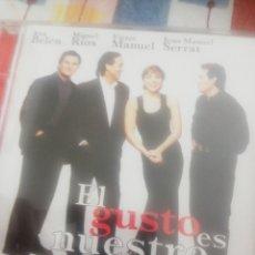 CDs de Música: CD / ANA BELÉN, SERRAT, MIGUEL RÍOS / VICTOR MANUEL / EL GUSTO ES NUESTRO. Lote 207253075