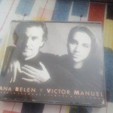 CDs de Música: 2 CD / ANA BELEN Y VICTOR MANUEL / PARA LA TERNURA SIEMPRE HAY TIEMPO. Lote 207253143