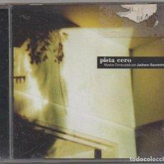 CDs de Música: PISTA CERO - MUSICA COMPUESTA POR JACKSON SOUVENIRS / CD ALBUM DEL 2002 / MUY BUEN ESTADO RF-6035. Lote 207258787