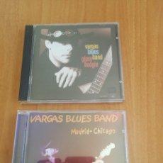CDs de Música: 2 CD VARGAS BLUES BAND GIPSY BOOGIE Y MADRID CHICAGO. Lote 207259168