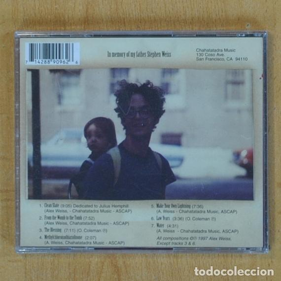 CDs de Música: ALEX WEISS QUARTET - MAKE YOUR OWN LIGHTNING - CD - Foto 2 - 207261972