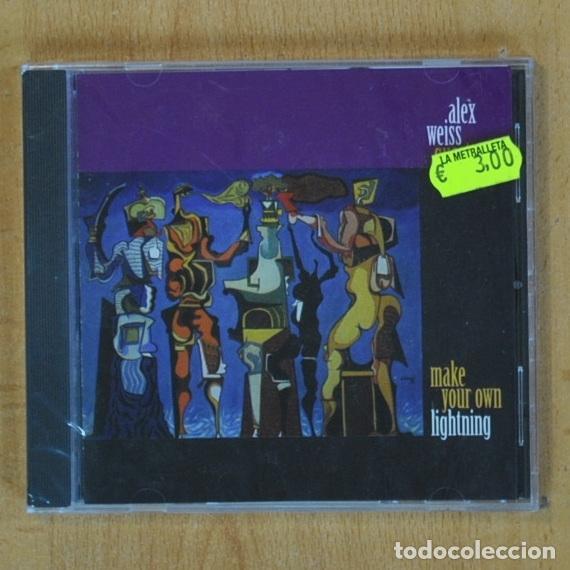 ALEX WEISS QUARTET - MAKE YOUR OWN LIGHTNING - CD (Música - CD's Jazz, Blues, Soul y Gospel)