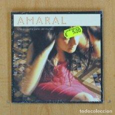 CDs de Música: AMARAL - UNA PEQUEÑA PARTE DEL MUNDO - CD. Lote 207261987