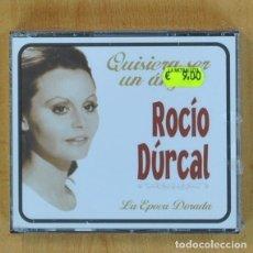 CDs de Música: ROCIO DURCAL - QUISIERA SER UN ANGEL LA EPOCA DORADA - 3 CD. Lote 207262066