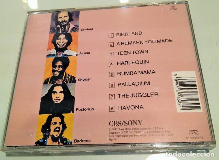 CDs de Música: WEATHER REPORT ----- HEAVY WEATHER - Foto 2 - 207266693
