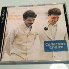 CDs de Música: CARLOS SANTANA / MAHAVISHNU JOHN MCLAUGHLIN ----- LOVE DEVOTION SURRENDER. Lote 207267581